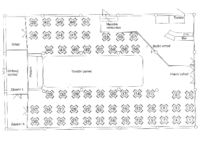 Ples 2019 – rozpis míst v sále